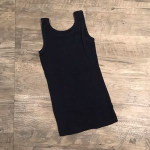 Justice Girl's Navy Blue Tank Top